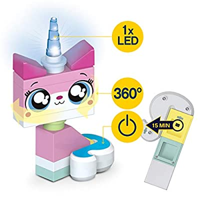 IQ Lego Movie 2 Unikitty LED NiteLite: Toys & Games