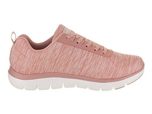 Women's Rose 0 Sport Flex Skechers Fashion Appeal 2 Sneaker qw7fnOp