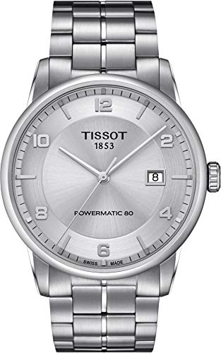Tissot Men's Luxury Swiss Automatic Stainless Steel Dress Watch (Model: T0864071103700)