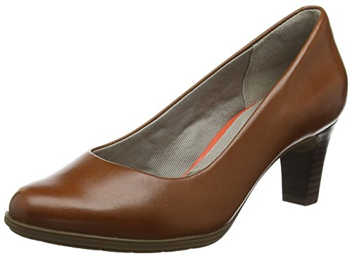 Bout Plain Fermé Marron Melora Femme tan Rockport Escarpins Total Pump Motion S0YYft