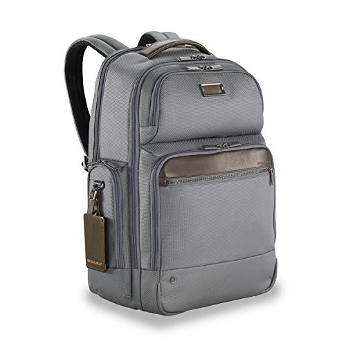 upc 789311001066 product image for Briggs & Riley @work Large Cargo Laptop Backpack, Gray