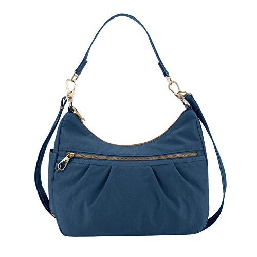 (Travelon Anti-theft Signature Hobo Bag, Ocean)