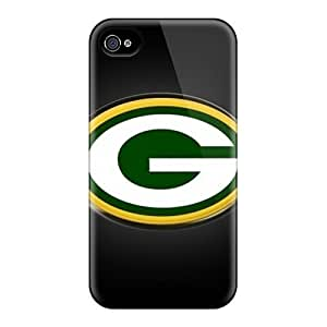 Hot Snap-on Green Bay Packers Hard Cover Case/ Protective Case For Iphone 4/4s