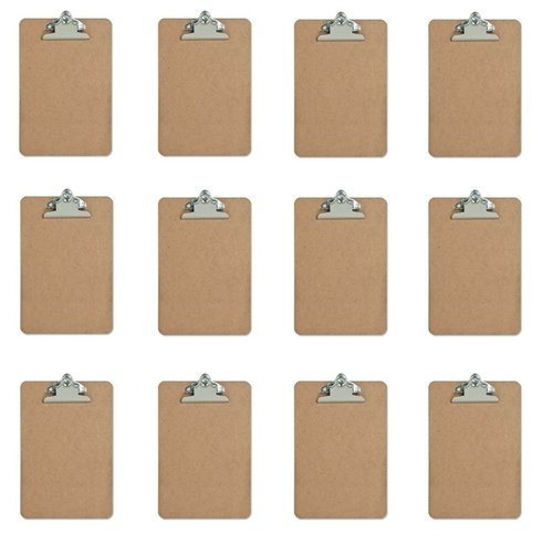 Mini Clipboard - Hardboard - 6