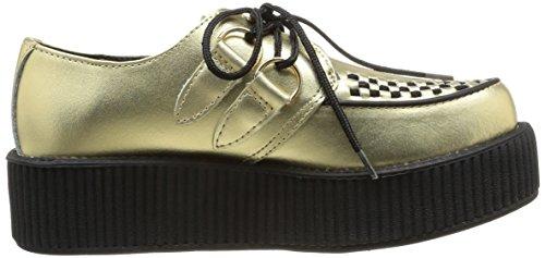 T.U.K. Viva Mondo Creeper - Zapatillas altas unisex Gold