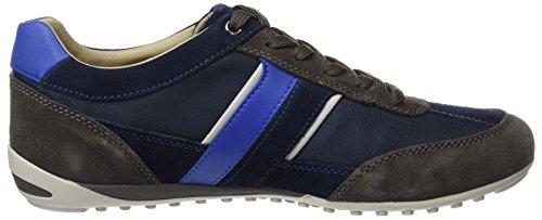 Wells C Charcoal Azul Zapatillas U Geox Blue Hombre para gpqUUW