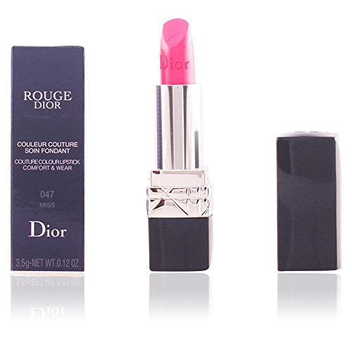 - Christian Dior Rouge Dior Couture Colour Comfort and Wear Lipstick, 766 Rose Harpers, 0.12 Ounce