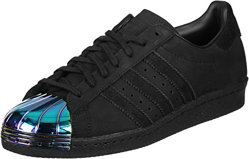 Toe Calzado adidas black 80s Metal Superstar core W fqBtUx