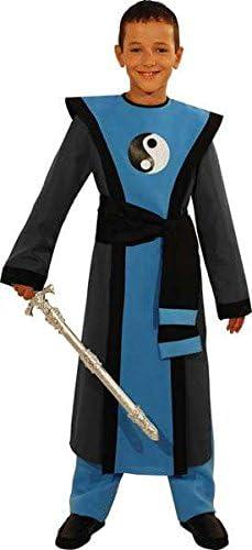 Disfraz de samurái talla 116 4/5 años: Amazon.es: Juguetes y juegos