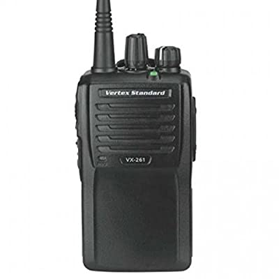 Vertex Standard Original VX-261-G7-5 UHF 450-512 MHz Handheld Two-way Transceiver 5 Watts, 16 Channels - 3 Year Warranty