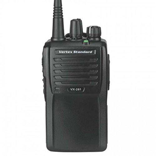 Vertex Standard Original VX-261-G7-5 UHF 450-512 MHz Handheld Two-way Transceiver 5 Watts, 16 Channels - 3 Year Warranty by Vertex Standard