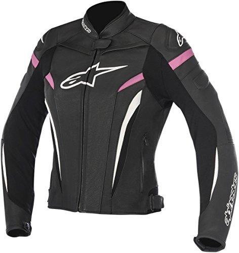 Alpinestars Stella GP Plus R V2 Womens Leather Jacket Black/Pink 46 EUR