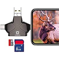 Climbose Trail Camera SD Card Reader Fits Android iPhone...