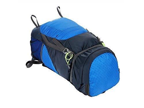 Borse all' aperto, outdoor e indoor outdoor multifunzione borsa arrampicata borsa escursioni pieghevole portatile zaino (blu)