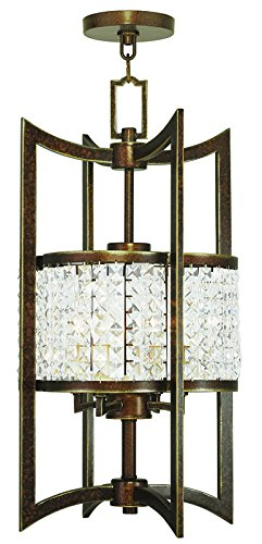 Livex Lighting 50566-64 Gramercy 4-Light Lantern, Hand Painted Palacial ()
