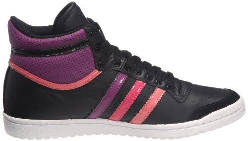Hi Ten V22855 Adidas Mode noir1 W Sleek Originals rubcla Top Femme florai Noir Baskets fTf1qw6