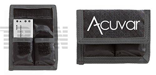 Acuvar Small Battery Pouch For Sony NP-BG1, NP-BX1, NP-N1,