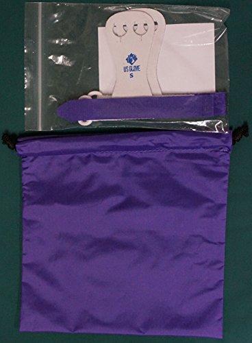 Beginner Rainbow Hook and Loop Gymnastics Grips & Grip Bag Combo