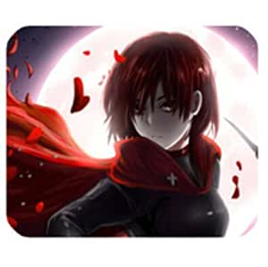 Orignal Personalized RWBY Anime Red Ruby Rectangle Mouse mat