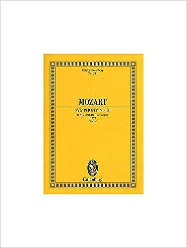 Pariser Poche Symphonie 31 d Kv297