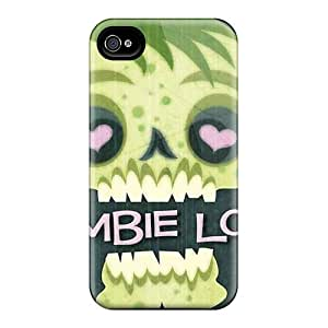 Iphone Cover Case - Zombie Love Protective Case Compatibel With Iphone 4/4s