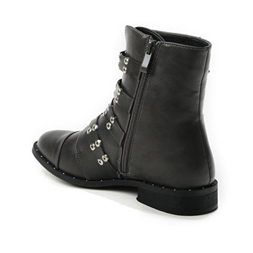 HERIXO Women's Boots Grey wSNOG