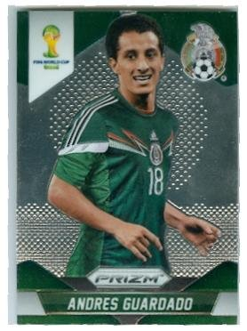 745dfa120ae Image Unavailable. Image not available for. Color  Andres Guardado trading  card (Mexico ...