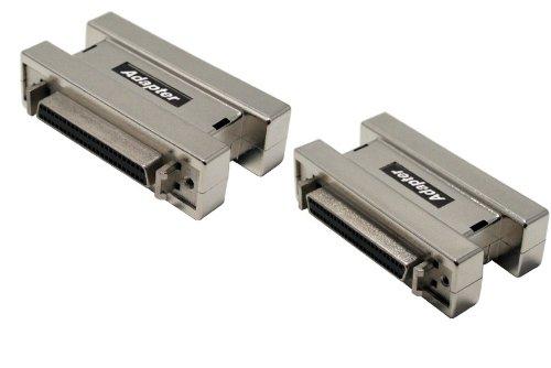 Gender Changer External Scsi (Data Storage Cables, p/n B300: External SCSI Adapter, HD50 Female - HD50 Female [Electronics])
