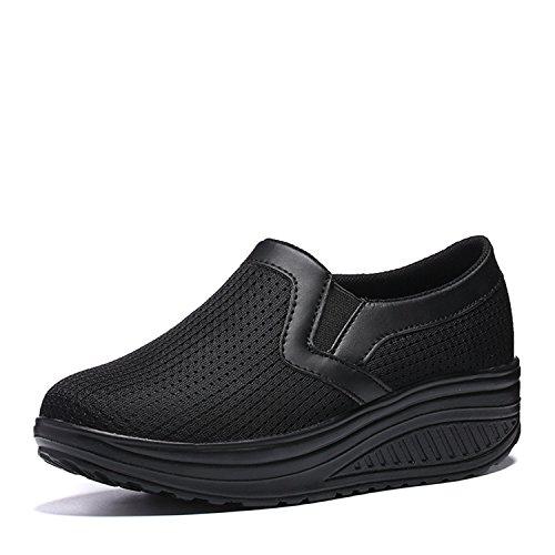 早いかんたん保守可能Isyunen ダイエットシューズ スリッポン エアクッション付き 船型底 ナースシューズ 痛くない ナース シューズ 疲れにくい ウォーキングシューズ 看護師 介護靴 安全靴 作業靴 疲れにくい