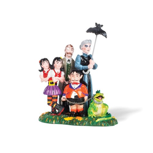[Department 56 Snow Village Halloween A Grimsly Family] (Spirt Halloween)