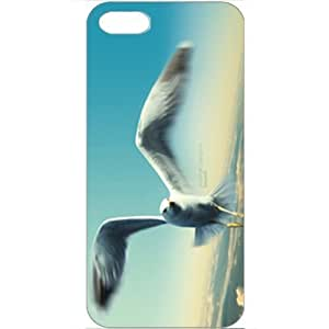 DIY Apple iPhone 5 Case Customized Gifts Personalized With Animals Jonathan Livingston Seagull Wide Birds Animals...