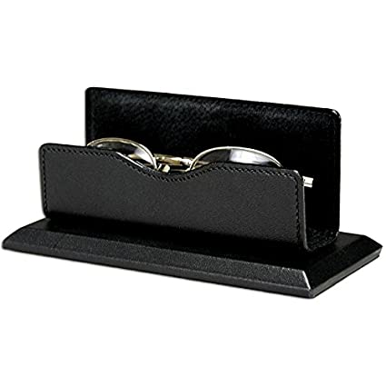 Artikle Leather Corporate Black Leather Eye Glass Holder