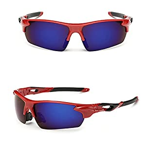 SYIWONG Eyewear Polarized Reader/Cycling Sunglasses(Purple)