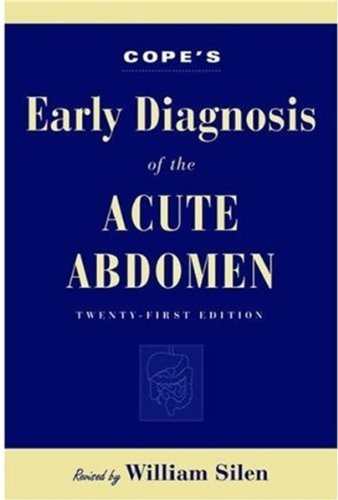 Cope's Early Diagnosis of the Acute Abdomen