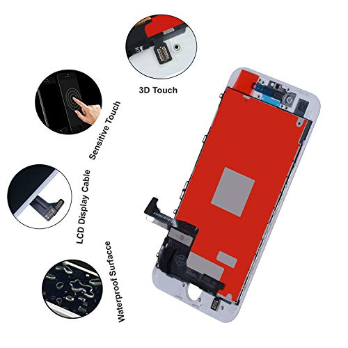 9f8cc847c31474 BeeFix Fit iPhone 8 Screen Replacement 3D Touch LCD Screen Digitizer  Replacement Display Assembly Repair Kits