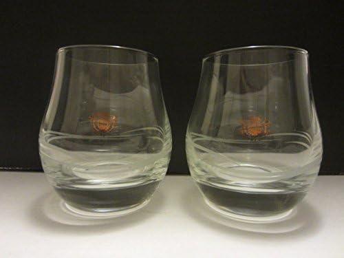 Set of 4 The Glenlivet Distillery George /& JG Smith Single Malt Scotch Whisky Pear Shape Lowball Rocks Snifter Tasting Glasses