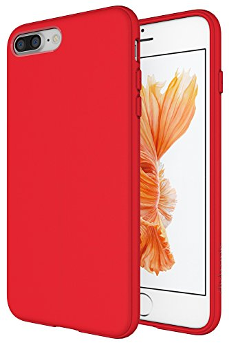 Diztronic  Case for iPhone 7 Plus, Matte - Matte Red