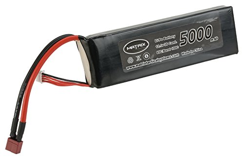 Evike Matrix 11.1V 5000 mAh 65C Purpose Built LiPo (Lithium Polymer) Battery - Standard Deans Connector