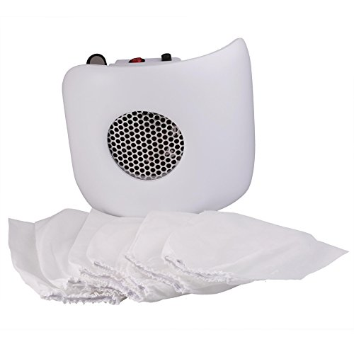 Miss Sweet Nail Dust Collector Vacuum for Polish Acrylic Nails (Z White) by Miss Sweet