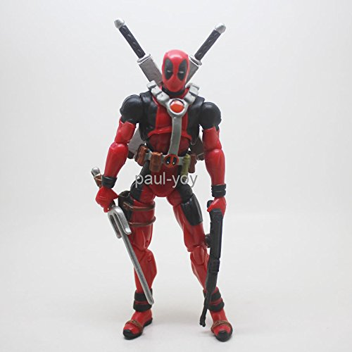 Marvel Universe 3.75inch Red Deadpool loose figure X-Men #F1