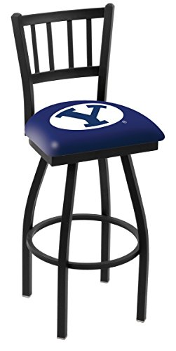 (Holland Bar Stool L018 Brigham Young University Swivel Counter Stool, 25