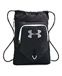 Under Armour Undeniable Sackpack, Black/White, One Size