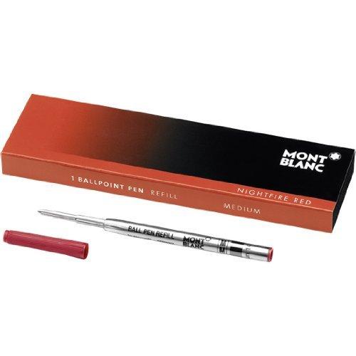 Genuine Montblanc Ballpoint Refill - Red Medium 105152 Authorized Mont Blanc Pen Dealer