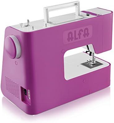Alfa Next20 Next 20-Maquina de Coser, Rosa: Amazon.es: Hogar