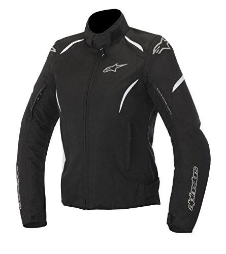 Alpinestars Stella Gunner Waterproof Womens Jacket, Primary Color: Black, Size: Md, Apparel Material: Textile, Distinct Name: Black/White, Gender: Womens