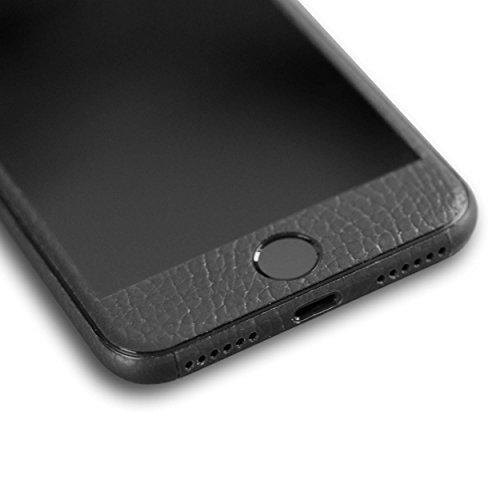 AppSkins Vorderseite iPhone 7 leather black