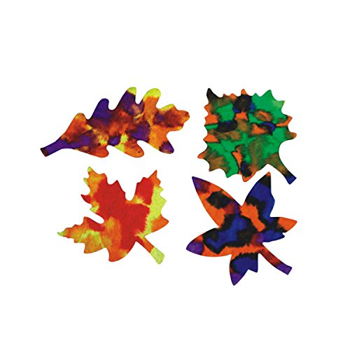 Roylco 96133 Color Diffusing Leaves (Pack of (Watercolor Leaves)