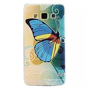 Teléfono Móvil Samsung - Cobertor Posterior - Gráfico/Diseño Especial - para Samsung Galaxia A7 ( Multi-color , TPU )