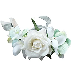 Zaptex Wedding Wrist and Corsage Flower for Bride Bridesmaid Decoration 78