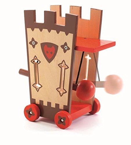 Darius and Ze Attack Tower for Pretend Play and Decoration Hotaling Inc Djeco Arty Toys 76371